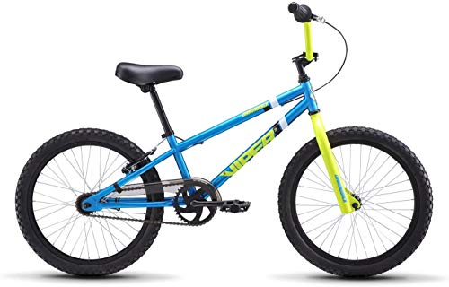 "Diamondback Bicycles Jr Viper 20"" Wheel Youth BMX Bike, Cyan/Yellow"