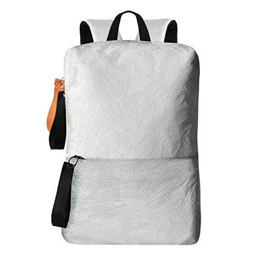 Sherpani Tyra Mini Rucksack, leicht und wasserabweisend, aus recyceltem, umweltfreundlichem Tyvek-Gewebe, Weiá (weiß), Einheitsgröße