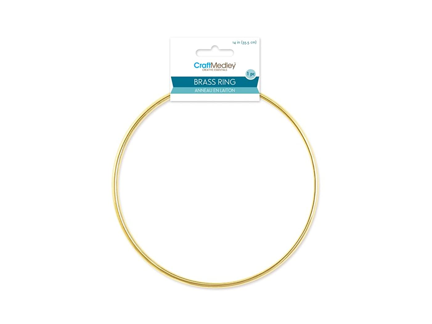 CraftMedley WR114 Brass Rings 14in Round