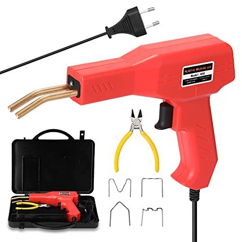 VISLONE Grapadora Caliente para Plastico 50W Soldador de Plastico Kit de Reparación...
