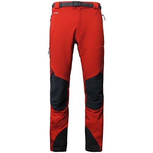 Trango Pant. Largo PROTE Extreme DS Pantalon Homme Rouge (Rouge Fuego/Anthracite)