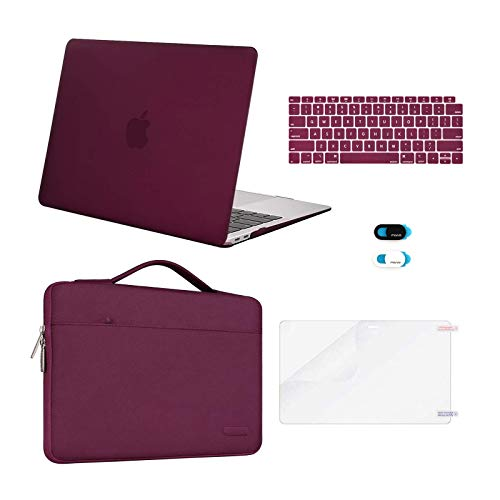 MOSISO Compatible with MacBook Air 13 inch Case 2020 2019 2018 Release...