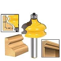 1pc 1/2 インチシャンク木材カッタークラシック & ビーズ成形 & エッジングルータービット 1/2 シャンクエンドミルルータ木工ツール