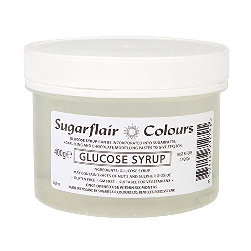 Sugarflair Glucose Syrup 400g to Stretch Sugarpaste Cake Icing Model Chocolate