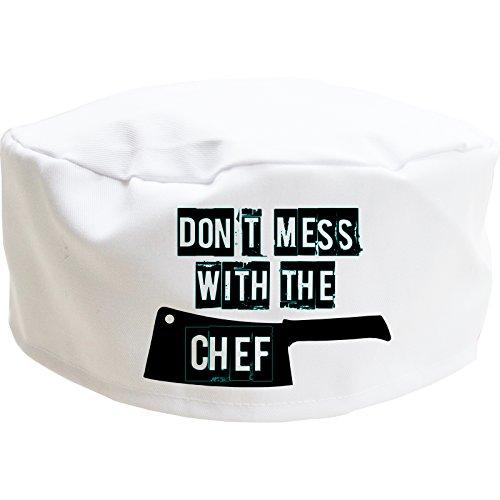 Sombrero de chef novedad, gorra de...