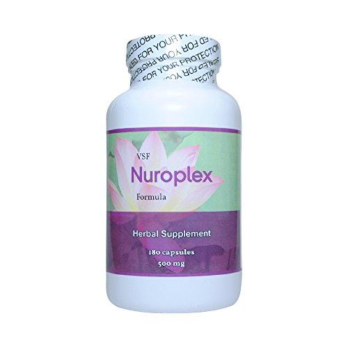 Allergic Pet Vet Select Nuroplex All-Natural Herbal Supplement - for Symptoms of Chronic Pet Seizures - 360 Capsules