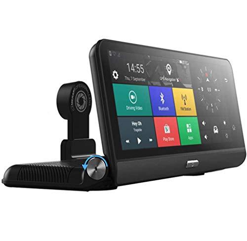 Cámara del Coche Registrador De La Conducción, De 8 Pulgadas Android 5.1 4G WiFi Bluetooth ADAS DVR De La Lente De La Cámara De Navegador GPS, Plegable Coche Registrador del Vehículo