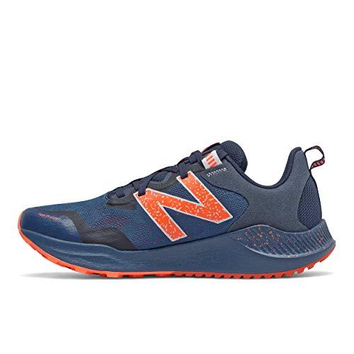 New Balance Nitrel V4 Trail, Zapatillas para Carreras de montaña Hombre, Natural Indigo, 42 EU