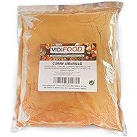 Curry Molido - 1kg - Mezcla de varias especias - Mezcla de especias de curry Garam Masala - Especia india arom�tica - Dieta cetog�nica, paleo y vegana
