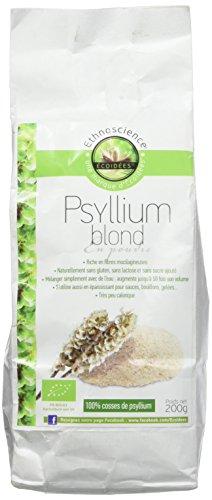 Psyllium blond - En poudre - Biologique - 200 gr