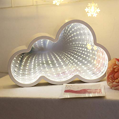 Encantadora nube estrella Luna luz de noche luz LED 3D juguete para niños regalo para bebé habitación de niños Tolilet decoración lámpara de interior iluminación-nube