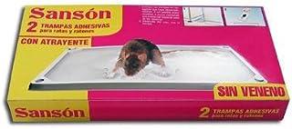 Sansón Trampas Adhesivas para Ratas y Ratones con Atrayente