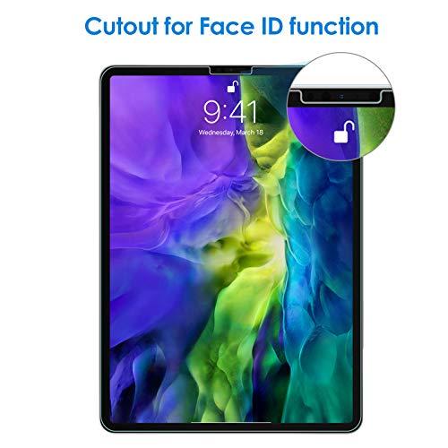 JETech Panzerglas Kompatibel mit iPad Air 4 10,9 Zoll, iPad Pro 11 Zoll (2020 und 2018 Modell), Gehärtetem Glas Displayschutzfolie