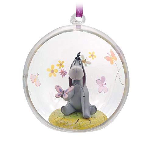 Disney Eeyore Glass Globe Sketchbook Ornament – Winnie The Pooh