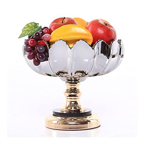ZhaoLiRuShop Cesta de Frutas Plato de frutac Fruta tazón de Fruta Cesta de Frutas Placa Fruta Creativa Moderna Fruta Placa Sala de Estar casa Plato Dulce decoración del hogar