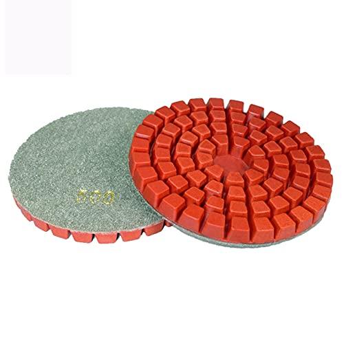 XIANGSHAN 10 PCS/Lote 4 Pulgadas de hormigón de hormigón de Pulido de Pisos de Almohadilla de Resina Renovar Las Almohadillas de Pulido de Diamantes para el Disco de molienda de mármol de Granito