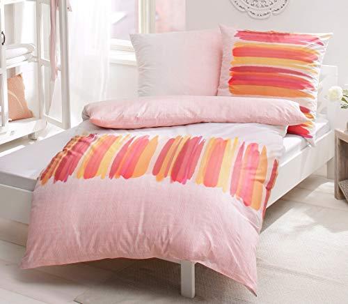 Casatex Renforce Bettwäsche mit Reißverschluss Baumwolle Cotton made in Africa 155x220 (188686) *** ***