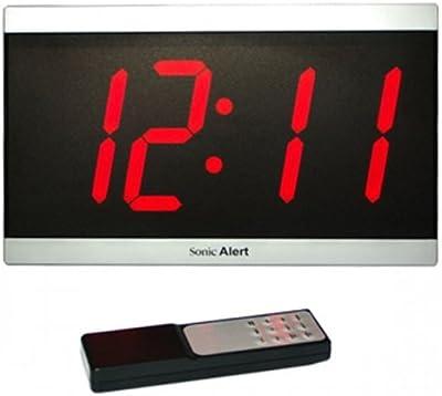 Geemarc BD4000 Uhr mit extra grossem Display und Fernbedienung