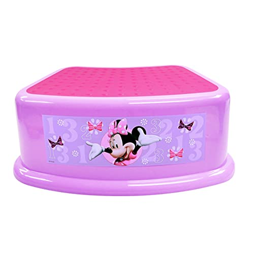 Product Image of the Disney Minnie Mouse'Bowtique' Step Stool, Pink