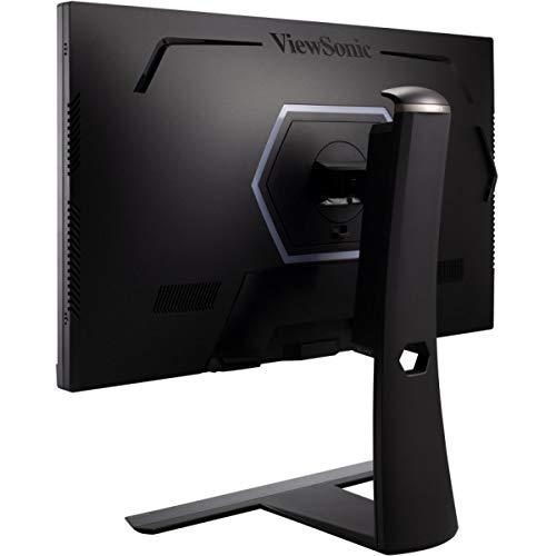 Viewsonic XG270QG 68,6 cm (27 Zoll) Gaming Monitor (WQHD, Nano IPS-Panel, 1 ms, 165 Hz, G-Sync, RGB Beleuchtung, HDMI, DisplayPort, Mouse Bungee, höhenverstellbar) schwarz - 6