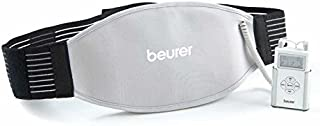 Beurer EM39 Heating Belt, Relieves Achy Lower Back Pain, Sore Muscles Pain, Cramps, Utilizing 8 Different Preset TENS Program, Adjustable Belt Includes Storage Case and Batteries