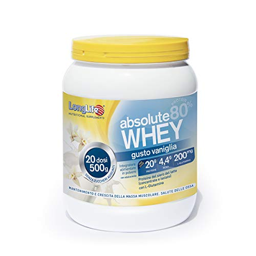 LongLife Absolute Whey Vaniglia - 500 Gr