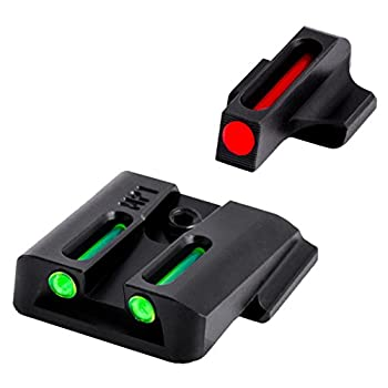 Truglo Fiber-Optic Front and Rear Handgun Sights for Smith & Wesson Pistols S&W M&P SD9 and SD40