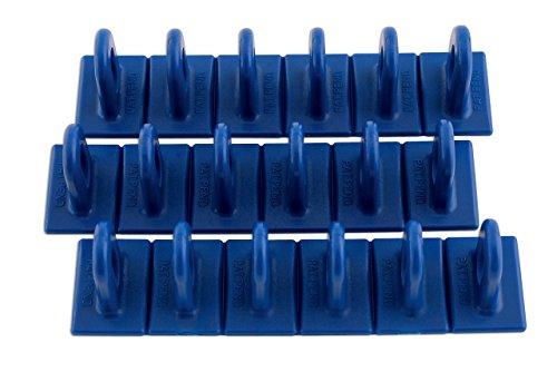 LASER TOOLS Power-Tec 92347 Multipads, Taille : 6/36, Bleu, Lot de 3
