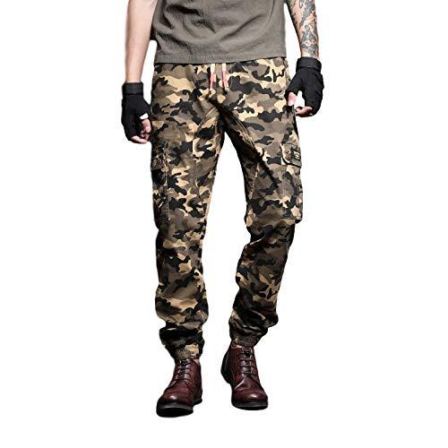 Zestion Pantalones de Combate para Hombre, Trabajo al Aire Libre,...
