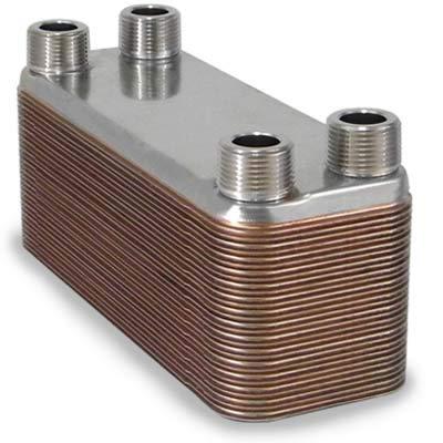 Top plate heat exchanger 4×12 for 2021