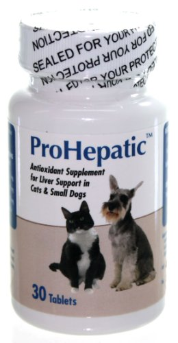 Prohepatic Liver Support Supplement for Cats Small Dogs (30 Tablets)