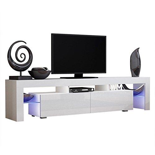 Concept Muebles TV Stand Milano 200 / Modern LED TV Cabinet/Living Room...