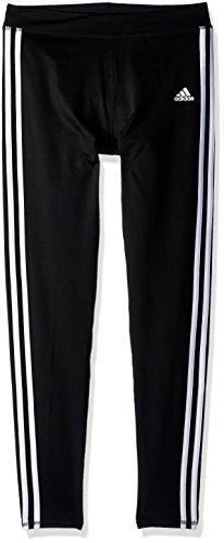 adidas Girls' Big Performance Tight Legging, Black Adi, Large