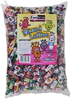 Finetime Mixed Wrapped Lollies, 2 kg