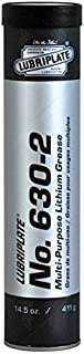 Lubriplate, No. 630-2, L0072-098, Lithium-based Grease, CTN 40/14.5 Oz Cart