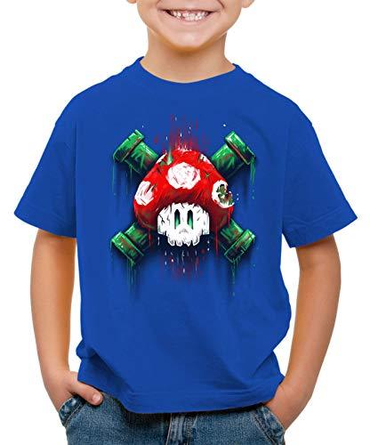 style3 Mario Totenkopf T-Shirt f...