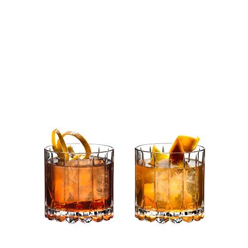 Riedel Drinkspecific Glassware Rocks Glas, 266 ml, transparent, 2 Stück
