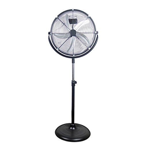 "Polar Aire 20"" High Velocity Pedistal Fan (VF-20PMC)"