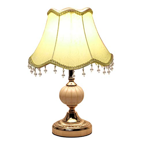 Lámpara de cabecer Dormitorio Lámpara de mesa de cristal Lámpara de mesa minimalista moderna Cálido Creativo Oscurecimiento Protección for los ojos Hogar europeo Lámpara de cabecera Lámparas de mesa d