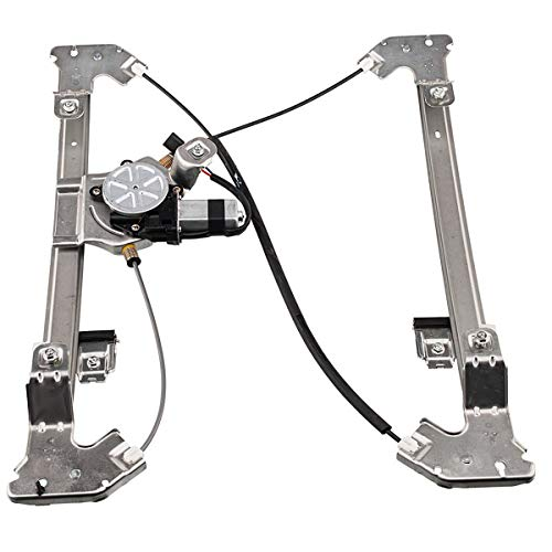 741-968 Power Window Regulator with Motor Assembly Rear Left Driver Side Compatible for 04-08 Ford F-150 06-08 Lincoln Mark LT Pickup Truck