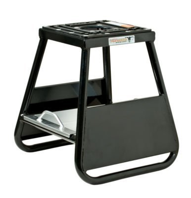 Pit Posse PP277BK Motorcycle Panel Id Stand Fits Motocross Dirt Bike Mx Honda Kawasaki Suzuki Yamaha KTM Comes with A Removable Tool Tray – 5 Year Warranty– Motorcycles/Automotive Accessories