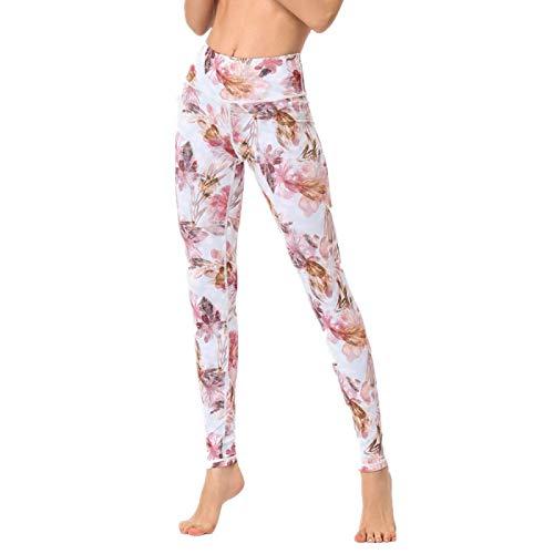 NIGHTMARE Control de Barriga Pantalones de Yoga de Cintura Alta para Mujer Pantalones para Correr Entrenamiento Leggings para Gimnasio Entrenamiento para Mujer Correr XL