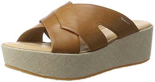 GANT Footwear Damen Judith Sandalen, Braun (tan), 39 EU