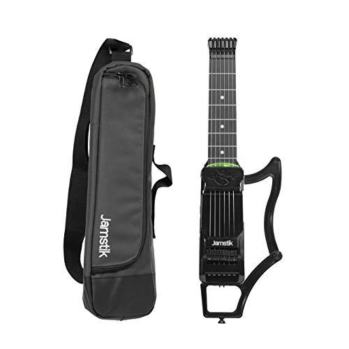 Jamstik 7, smarte Lern- und MIDI-Gitarre, inkl. Reisetasche, schwarz