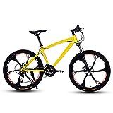 D&XQX Mountain Bike, Strand Snowmobile Fahrrad, Doppelscheibenbremse für Fahrräder, Alufelgen, Erwachsene 26 Zoll Mann Einer Frau General Purpose,24 Speed