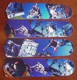 "Radical Skateboards 17"" Ceiling Fan Blades"
