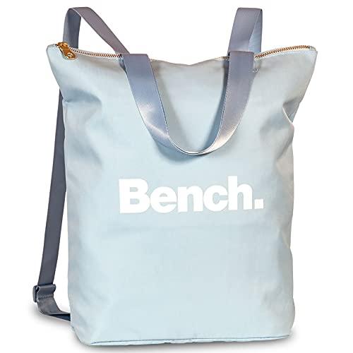Bench Damen Handtaschen Rucksack Frauen Daypack Backpack 64160, Farbe:Taubenblau