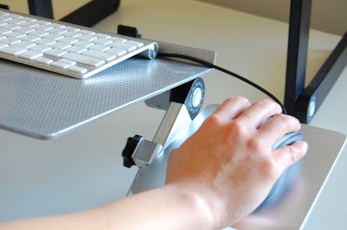 Uncaged Ergonomics WEMPs WorkEZ Mouse Pad for All WorkEZ Laptop Stands, Silver Photo #3