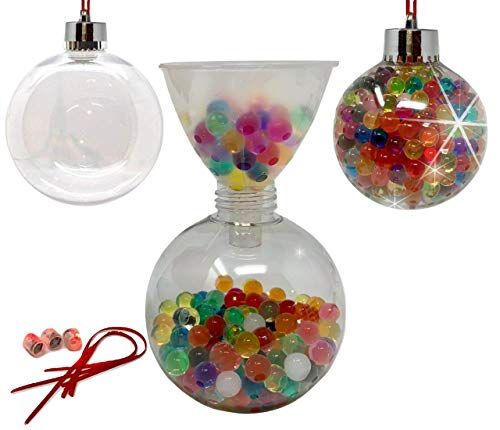 DIY Christmas Ornament Kit - Christmas Craft with LED Lights | Beaded Ornaments|Decorating Ornaments