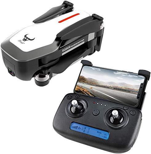 Turtle Story Toys SG906 GPS WiFi con la Batteria 4K Ultra Chiaro Camera Selfie Pieghevole RC Drone Quadcopter RTF Bianco 3 JXNB